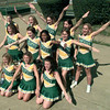 Date:   9/24/98---LHS varsity cheerleaders. Kevin green