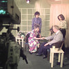 9/23/98---Outlook show host Rachel Rice (seated left) prays with guest Pastor David Benson, Pam Ferguson (right) and Mona Leaton prior to taping the show. Ferguson and Leaton are camera operators. bahram mark sobhani