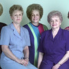 9/01/98---Longview Woman's Forum officers are, from left, Faynelle Youngblood, second vice-president; Carol Dyson, president; Kathleen Lutrick, fourth vice-president; Helen Gibson, first vice-president; Mildred Hicks, corresponding secretary. bahram mark sobhani