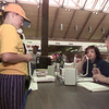 9/26/98---Kristen Schultz, 11, practices calling 911 as police dispatchers Cyndi Hill, right, and Victoria Wilson monitor the phone. Saturday's 911 Day at Longview Mall provided various emergency outfits an opportunity to share information to the public about safety and proper emergency actions. bahram mark sobhani
