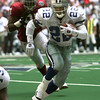 Emmitt Smith with the Dallas Cowboys. Kevin green