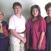8/27/99---Left to right---Pres-Linda Davis, Pres elect-Pam kilfoyle, VP-Brenda Marriman, Treas-Connie Baker, Not Pictured---Sec-Bobbie King, Corresponding Sec.-Shirley Davis all pilot Club Officers. Kevin green