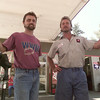 8/11/99---Fourth Street Texaco co-owners James Smith, left, and David Richardson. bahram mark sobhani