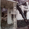 8/18/99---A burnt out house sits at 109 Mumford in the Pine Tree area after it caught fire early Wednesday morning. bahram mark sobhani