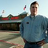 12/13/99---Managing Partner John Swope stands outside the newly opened Texas road house (cq) Monday on Loop 281 in Longview. bahram mark sobhani