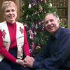 12-15-99---Emily and her husband Dr. Laney Johnson at their home in Longview.Kevin GReen