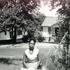 2/3/99---A June 1957 photo of Sleetie King in her front lawn on N Court St. in Northcutt Heights. Kevin green