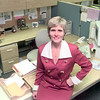 2/9/99--Martha LaFayette in her office at the Social Cecurity office in Longview. Kevin green