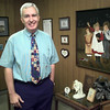 Date:   1/20/99---White Oak ISD employee Jack Hale in his office at the adminstration building in White Oak. Kevin green