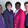 Date:   1/19/99---Mary Brown, left, Barbara Brooks, Bobbie McGee-Benson, and Susan Erwin, right, for Take Two. Kevin green