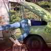 Date:   1/25/99---Jonathan Roundtree gets a leg up while working on a car in the 1400 BLK. of Birdsong monday afternoon in Longview. Kevin green