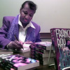 Date:   1/23/99---Texas native and author Francis Ray autographs books Saturday morning at the Library in Longview. Kevin green