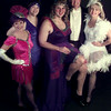 Date:   1/26/99---Junior League Members pose in costumes they will perform in at Saturday's Charity Ball. From left are Sheila Rhinehart, Carol Pope, David Fountain, Ken Walker and Carol Walker. A dress rehearsal Friday at Maude Cobb will be open to the public, with tickets costing three dollars for adults, two dollars for students and one dollar for children five and under. bahram mark sobhani