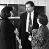 Date:   1/13/99---Latricia Nichols, left, John Dyer, center, talk with Kandie Wilson, who is retiring as executive director of the Greater Longview United Way after 46 years of service, at the GLUW luncheon Wednesdy afternoon in Longview.  Jessica Williamson