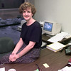 Date:   1/28/99---Susan Salter in her accounting office at Performance Friction. Kevin green