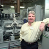 Date:   1/26/99---Paul Adams in the generator room at Longview Regional Medical Center in Longveiw. Kevin green