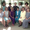 6/13/99---front row left to right--Lisa Alston, Karen Torres, Jan Meredith, Betty Horaney, Laurie Tibiletti, Jacquelyn Simpson, back row----Kellyn Drayer, Kay Tomlinson, Sue Hayes, Jeanie Folzenlogen, Susan Russell, Laurie Brown, and Tara Ford, Steering Comm. for Gold Rush with Jan and Betty as Co-chairs. Kevin green