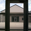 7/1/99---A look at the courtyard from inside the Martin A Smith Regional Juvenile Center. bahram mark sobhani