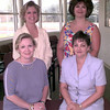 Gold Rush---Front Row---Jacquelyn Simpson, Lisa Alston, back row---Laurie Tibiletti, and Laurie Brown. Kevin green