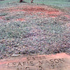 7/14/99---Leafie Mason's grave in the Hughes Springs Historical Cemetery, Leafie was found murdered in her home in Oct. of 1998, and Angel maturino Resendez who turned himself in to a Texas Ranger in El Paso has been charged with the crime in Hughes Springs Texas. Kevin green