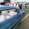 7/1/99---A man drives through the Cruise Night in his old Chevy Impala. bahram mark sobhani