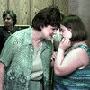 7/16/99-Judy Allen, left, member of the board of the Arc of Texas, speaks with Katy Hull, recent graduate from the Leadership Agent Team of Sabine Valley Center, talk after the ceremony.  Jessica Williamson