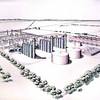 7/12/99---A photo of the new power plant to be built in Rusk County. Kevin green