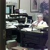 7/14/99---T. John Ward returns phone calls of congratulations from his Longview office Wednesday. The U.S. Senate confirmed Ward's nomination Tuesday to become a federal district judge. bahram mark sobhani