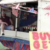 6/28/99---Tim Holt waits for customers at a fireworks stand Mondayt north of Longview. Holt said sales have slowly picked up in the last few days and expects big crowds as Independence Day draws nearer. bahram mark sobhani