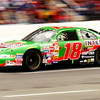 Joe Gibbs Interstate Batteries NASCAR racing car. Kevin green