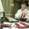 6/28/99---Jackie Murphy, of the Red Cross blood center in Longview, prepares shortdated units of blood to be returned to the Dallas Red Cross blood center Monday. Murphy is a hospital service technician for the Red Cross. bahram mark sobhani