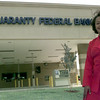 6/16/99---Guaranty Federal Bank manager Sheila King in front of their new location in the longview Mall parking lot Wednesday morning after a grand opening in Longivew. Kevin green