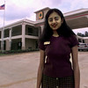 Yogita Patel, assistant general manager, stands in front of the new Super 8 Motel in Longview. The motel is located at 1409 E. Marshall Avenue.  Jessica Williamson