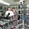 5/6/99---Mendy and Natalie Rabicoff with some of Sobol Welding Delta products in their store on Fm 1845 in Longview. Kevin green