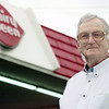 5/18/99---Rex Pickens stands outside the Hallsville Dairy Queen. bahram mark sobhani
