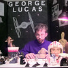 5/20/99---Gilmer Fifth grader Chase Staddard as George Lucas. Kevin green