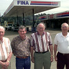 5-25-99---The owners of Presley Oil Co. in front of a Fina Short Stop on Eastman Rd. in Longview. Kevin green