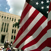 5/29/99---Veterans, families and supporters gather on the Gregg County Courthouse lawn Saturday for Memorial Day Services. bahram mark sobhani