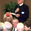 11-16-99---The Rev. Robert Babb speaks to a groupTuesday afternoon during a Interfaith Council Fall Forum at the Monsignor Shopka Center in Longview. Keivn GReen