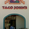 11/3/99---A patron leaves Taco John's mexican food restaraunt Wednesday at French Quarters shopping center in Longview. bahram mark sobhani