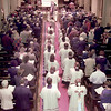 Procession down the isle of the Trinity Episcopal Church during the Institution Service for the Rev.Robert Bass done by Bishop Don Wimberly of Tyler. Obie LeBlanc.