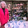 10-6-99--Donna Christie at her shop Christie's Collectibles in downtown Longview. Kevin Green