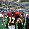 10-24-99---Washington Redskins #37 Larry Centers walks off the field Sunday afternoon the Dallas Cowboys beat the Redskins 38-20 in Irving. Kevin GReen