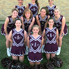 10-8-99--White Oak 1999-2000 cheerleaders. Kevin Green