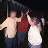 10/7/99---Highland Pines Nursing Home resident Mary Holder dances with her daughter Joyce Myers at a street dance and barbecue Thursday night at Highland Pines. The party was held for staff, resdents, family and the community in general as an end of summer celebration. bahram mark sobhani