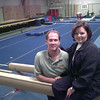 10-5-99---Doug and Paula Stockton, at Piney Woods Gym in Longview. Kevin Green
