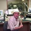 9/9/99---KYKX deejay J.T. Cooper in a production at the radio station in Longview. Cooper is up for an award from the Gospel Music Association in Nashville. Kevin green