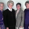 9/29/99---Oak Crest Woman's Club 1999-2000 officers are, from left; President Louise Hughes, Vice-President Faynelle Youngblood, Secretary Phyllis Kendrick and Treasurer Mary Grider. bahram mark sobhani
