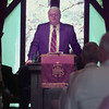 9/18/99---District Court Judge John Ward speaks Saturday to the Davidson Foundation at the Josephine Davidson Chapel near Diana. bahram mark sobhani