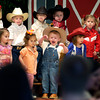 A young cowpoke cries for his mother during a Western Days program at the PREP School at First Christian Church Tuesday, April 12, 2005.  (Les Hassell/News-Journal Photo)